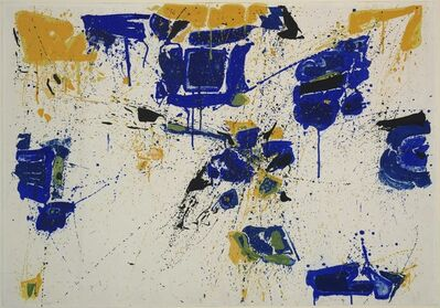Sam Francis, 'The Upper Yellow', 1960