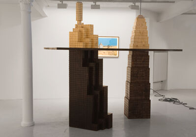 Johan Zetterquist, 'Proposal No 5, Partly Buried Very Tall Buildings', 2007