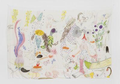 Anna K.E. & Florian Meisenberg, 'Late Checkout (dots)', 2015
