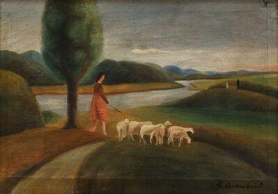 Gisberto Ceracchini, 'Al pascolo'