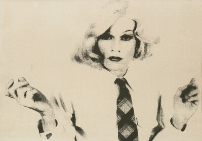 Christopher Makos, 'Andy Warhol In Drag', c.1980