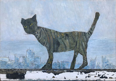 Gogi Chagelishvili, 'A Cat', 2009
