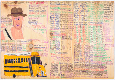 Daniel Green, 'Indian Jones and School Bus', 2015