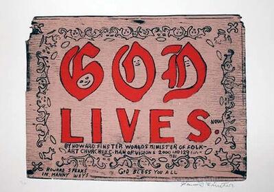 Howard Finster, 'God Lives', 1994