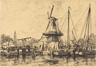 Maxime Lalanne, 'A Haarlem', 1877