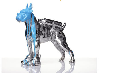 William Sweetlove, 'Silverplated Bulldog with Petbottle', 2012