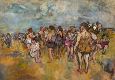 Henry Botkin, '[People on Beach]', n/a