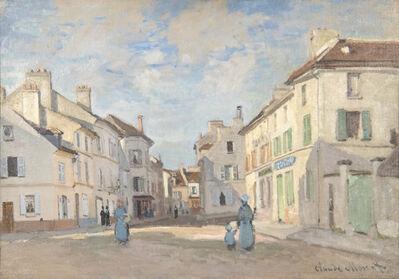 Claude Monet, 'L'Ancienne rue de la Chaussée, Argenteuil', 1872