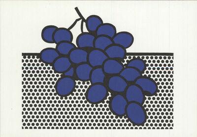 Roy Lichtenstein, 'Blue Grapes', 1972