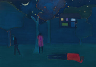 Tom Hammick, 'Night Animals', 2019