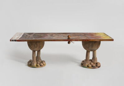 Zhou Yilun 周轶伦, 'Doodly Long Table #31', 2019