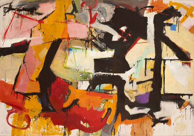 Audrey Flack, 'Abstract Force: Homage to Franz Kline', 1951-1952