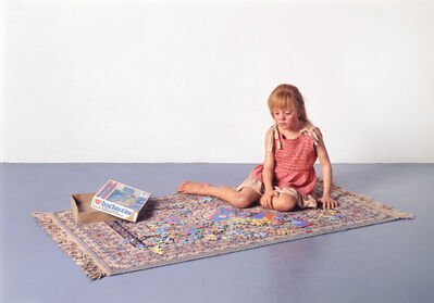 Duane Hanson, 'Child with Puzzle', 1978