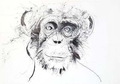 Dave White, 'Chimp - Original', 2017