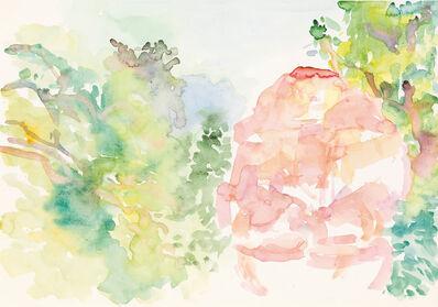 Maria Lassnig, 'Dionysos im Wald', 1984