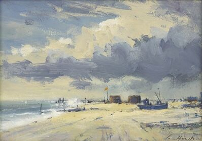 Ian Houston, ''Our Boys' on the beach at Hythe'