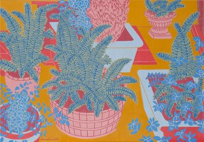 Norman Gilbert, 'The Cellar Stair (Ferns)', 2010