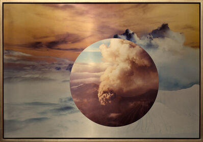 Meridel Rubenstein, 'Mt. Bromo From Above Encircled', 2011