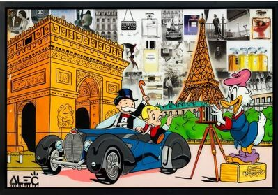 Alec Monopoly, '$ Team photoshoot in Paris ', 2020