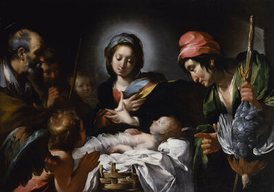 Bernardo Strozzi, 'Adoration of the Shepherds', ca. 1615