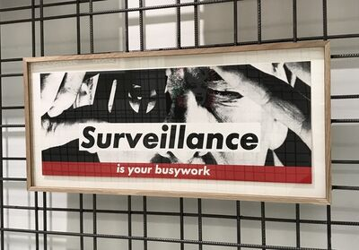 Barbara Kruger, 'Untitled (Surveillance is your busywork)', 1985