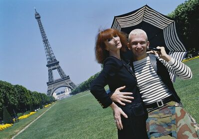Jean-Marie Périer, 'Jean-Paul Gaultier and Sonia Rykiel, Paris Tour Eiffel', 1995