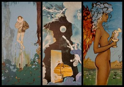 Salvador Dalí, 'Trilogy of Love Suite', 1976