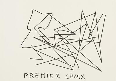 Claude Closky, 'Premier choix (ivoire) (k)', 2020