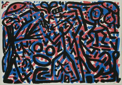 A.R. Penck, '9. November', 1990