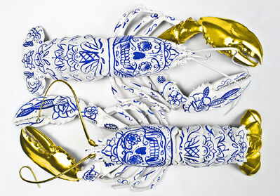 Clara Hallencreutz, 'Porcelain Lobsters', 2015