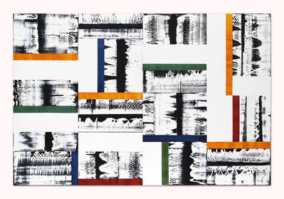 Ricardo Mazal, 'Composition in Yellow, Green, Blue, and Red 1', 2014