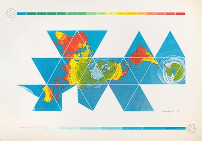R. Buckminster Fuller, 'Dymaxion Air-Ocean World Map', 1981