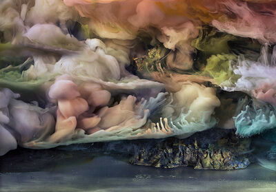 Kim Keever, 'Abstract 35275b', 2018