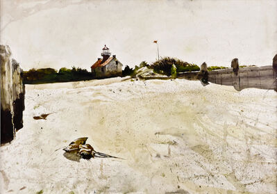 Andrew Wyeth, 'East Point Lighthouse', 1991