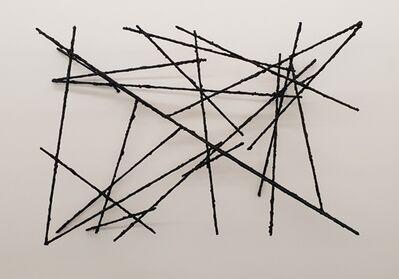 Wolfgang Becksteiner, 'Als der Strich begann den Raum für sich zu entdecken I', 2018