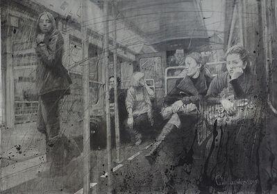 Kirill Chelushkin, 'Once in a subway.', 2015