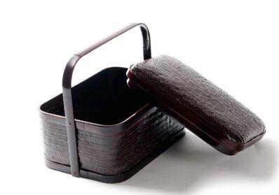 Sinjeong Seo, 'Ottchiled bamboo tea basket', 2017