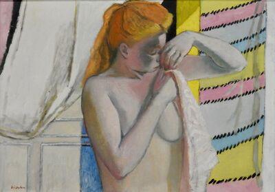 Maurice Brianchon, 'Blond à sa toilette', 1957