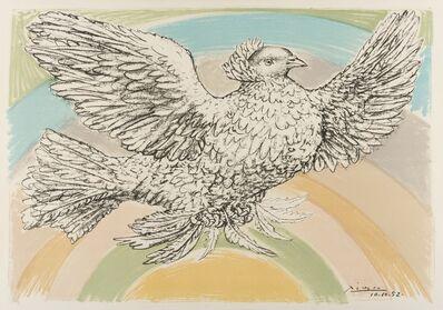Pablo Picasso, 'Colombe Volant ( l'Arc-en-ciel) (Bloch 172; Mourlot 214) ', 1952