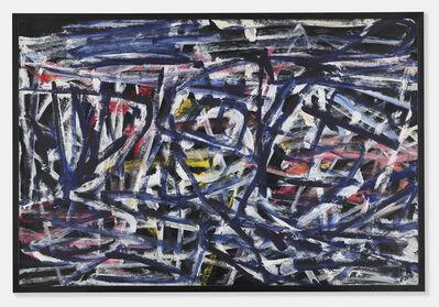 Jean Dubuffet, 'Fantasme bleu 8 mai 1984', 1984