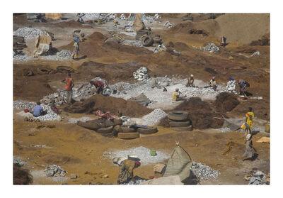 Nyaba Leon OUEDRAOGO, 'The granite's breakers', 2010-2011