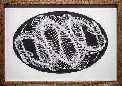 Hunter Stabler, 'Umbilical Filigree Ovum (drawing)', 2016