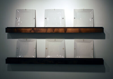 Trent Burkett, 'Set of 3 Plates on a Shelf (x 2)', 2014