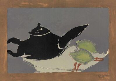 Georges Braque, 'Théière et citrons', 1949