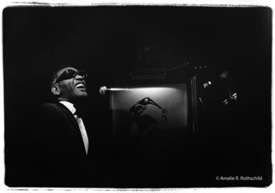 Amalie R. Rothschild, Jr., 'Ray Charles at Fillmore East, April 18, 1970', 1970