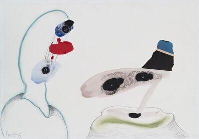 Lucebert, 'Two Figures', 1986