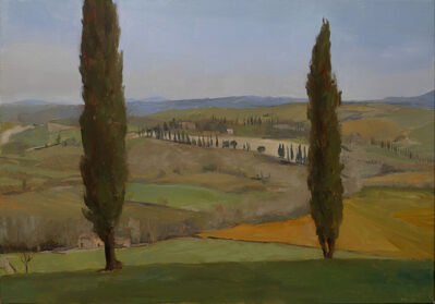 Kenny Harris, 'Tuscany series: Toscana Hills with Cypresses', 2011