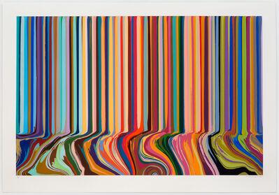 Ian Davenport, 'Colourcade Buzz', 2015