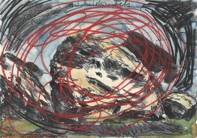 Anselm Kiefer, 'Brünhildes Fels (Brünhildes Rock)'