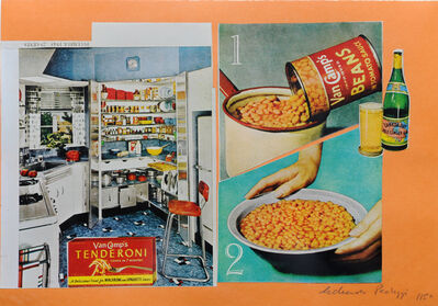 Eduardo Paolozzi, 'Improved Beans', 1972